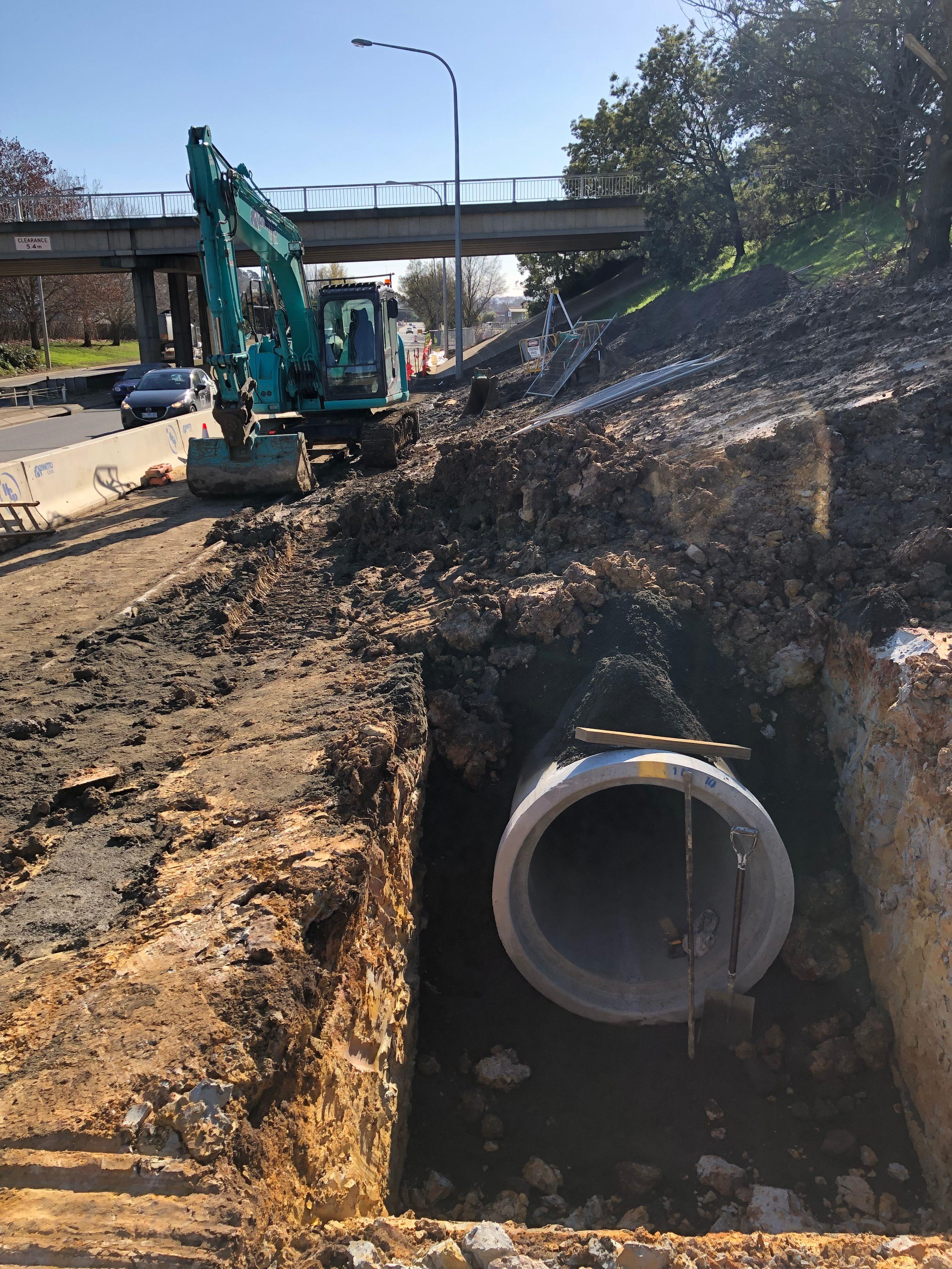 Glen Dhu Combined Drainage System Upgrade