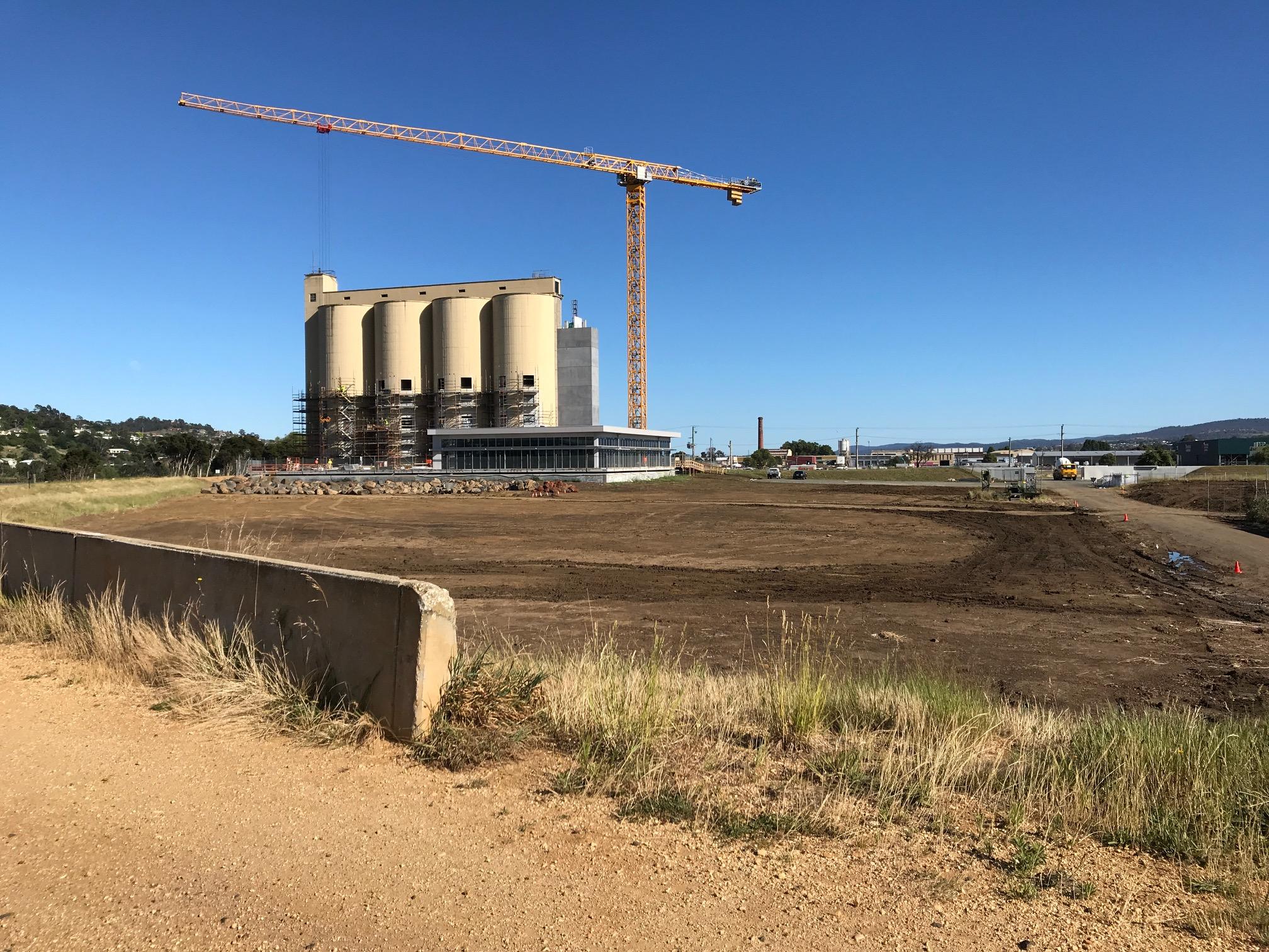 Riverbend Park  Redevelopment -  Civil Earth Works