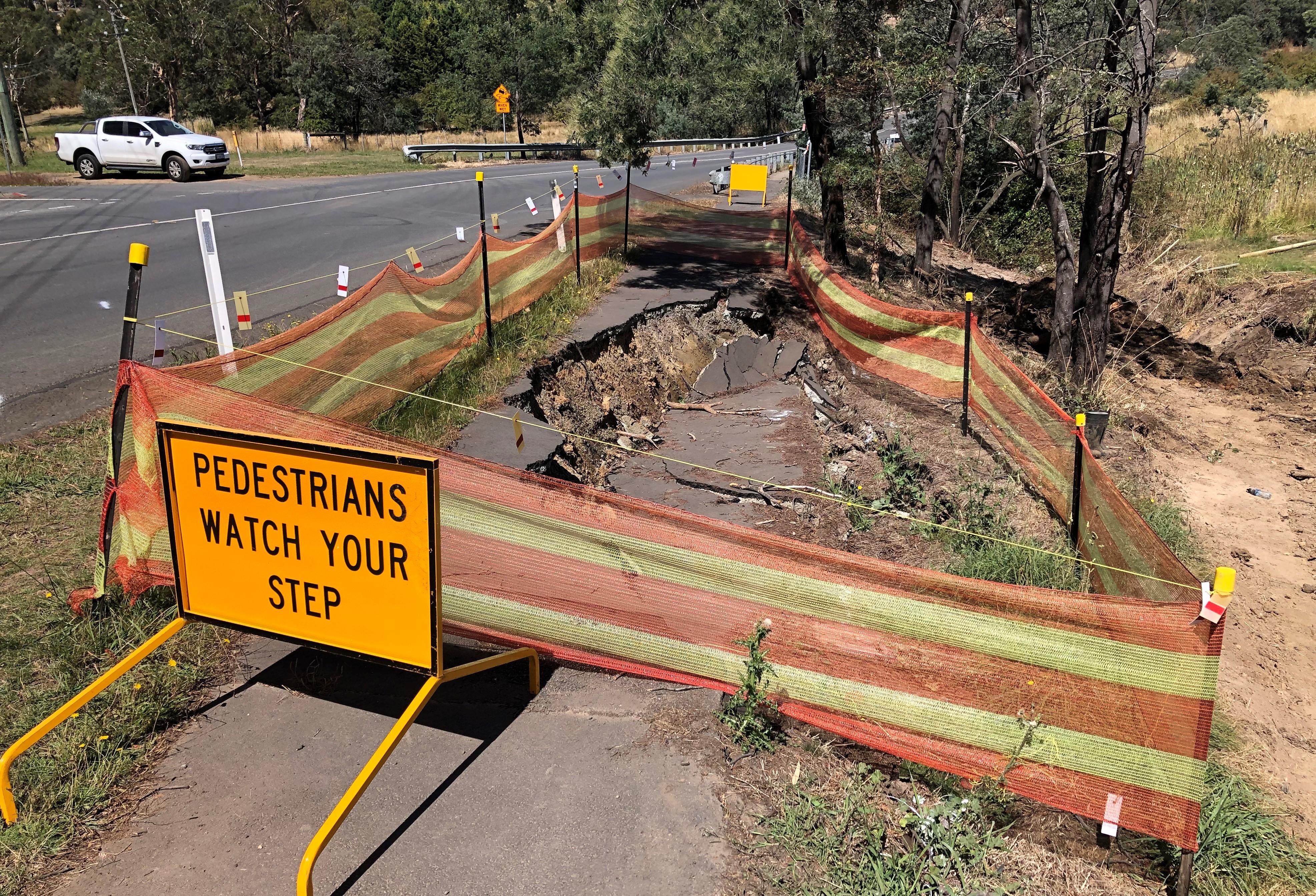 Opossum Road - Landslip Remediation